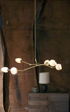 BDDW - Branching Bubble Chandelier, Somebody pinned this seriously and I just thought it looked like sticks with marshmallows on the end.. S'more lamp <3