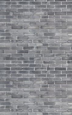 6 brilliantly brick ideas for a beautiful and classy grey living space. If you've always admired the cool and untamed look of a raw brick wall, but like to keep your room clean and tidy, these Brick Wallpaper Mural, Black Background Wallpaper, Grey Wallpaper, Textured Wallpaper, Textured Walls, Grey Brick Houses, Faux Brick Walls, Painted Brick Walls, Brick Interior