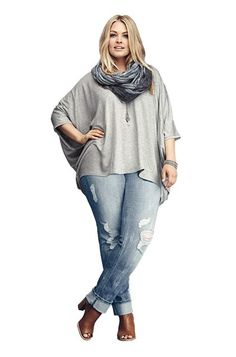 8 Flattering Pairs Of Plus-Size Jeans #refinery29  http://www.refinery29.com/flattering-plus-size-jeans#slide-3   — SPONSORED —The Distressed Jean There's something about predestroyed denim that evokes effortless style. When you want to channel that IDGAF attitude, you want a pair that's worn in all the right places. These light-wash jeans can be low-key with sneaks and a tee or edged up with booties and a moto jacket. Either way, you're in for one killer look.