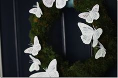 Make a Spring Butterfly Wreath!