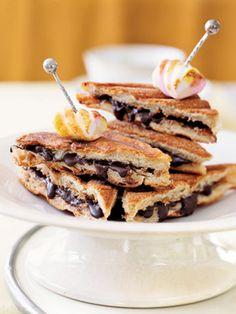 chocolatey panini!