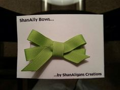 Hairbow https://www.facebook.com/ShanAligansCreations/