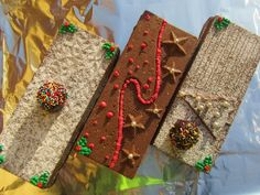 Stevia, White Christmas, Burlap, Reusable Tote Bags, Sweets, Mojito, Brownies, Desserts, Home