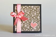 Mini Álbum by Fran - Dia dos Namorados #minialbum #scrapbook #valentinesday