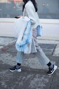 On the Street….Fifty Shades of Blue & Grey, New York