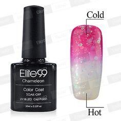 Fashion Lacquer Thermal Change Color Soak Off UV LED Nail Art Gel Polish 9037