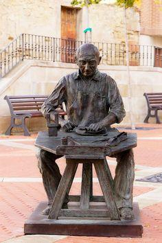 Escultura en las calles de Haro, La Rioja