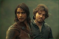The Musketeers - D'Artagnan & Athos