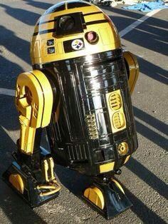 Even Star Wars are Steelers fans!
