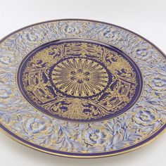 Royal Worcester China Cabinet Dinner Plate 1930s by LoftyMix, $138.00