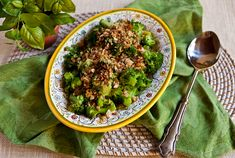Italian Food Forever » Broccoli With Anchovies & Garlicky Breadcrumbs