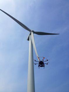 Descending back to earth Aerial Camera, Yorkshire, Wind Turbine, Earth, Film, Movie, Film Stock, Cinema, Films