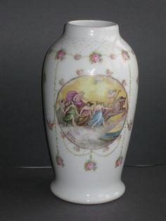R C Bavaria Sevres. 24.5 cm Floral Theme, Old Ones, Bavaria, Vase, Artist, Diy, Decor, Decoration, Bricolage