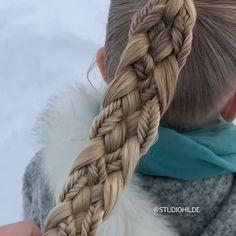 Hairdo For Long Hair, Long Hair Video, Easy Hairstyles For Long Hair, Braided Hairstyles, Fancy Hairstyles, Hair Style Vedio, Hair Tutorials For Medium Hair, Girl Hair Dos, Hair Upstyles