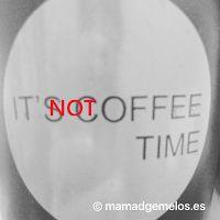 Mamá d Gemelos: Microcuento 4: El sabotaje a la hora del café