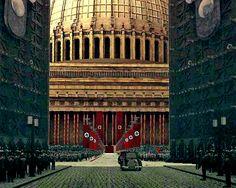 Die Große Halle (also Ruhmeshalle or Halle des Volkes)