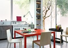 Sosia | Lema  #interiors #interiordesign #modern #luxury #contemporary #inspiration #homedesign #ideas #architecture #furniture #sleek #dsegnare #design #minimalism #table #diningtable #dining #diningroom #sidetable #occasionaltable #console #dreamhome #wishlist #europeandesign #italy #italian #italia #lema