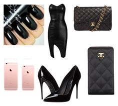 Where's the calamari!! by gottalottaprada on Polyvore featuring polyvore, fashion, style, Posh Girl, Dolce&Gabbana, Chanel, clothing, dress, fancy, FaceTime, onthephone and calamari
