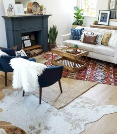 Nice 35 Bohemian Living Room Ideas https://homeylife.com/35-bohemian-living-room-ideas/