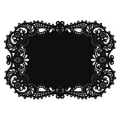 Laser Placemat - Black Sold by the dozen. Perfect for place settings or to anchor your centerpieces! Quaint Wedding Stationery.