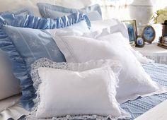Luxury pillow cases.