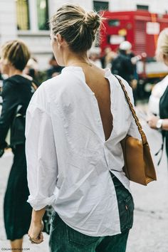 MFW-Milan_Fashion_Week-Spring_Summer_2016-Street_Style-Say_Cheese-Open_Back-White_Shirt-