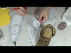 Куклы и игрушки: стильное рукоделие. День 16. Анастасия Голенева - YouTube