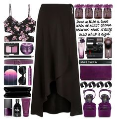 """What is Right"" by heartart ❤ liked on Polyvore featuring Forever 21, Cultural Intrigue, Casetify, Lancôme, Polaroid, NARS Cosmetics, Yves Saint Laurent, ASOS, Baccarat and Moschino Cheap & Chic"