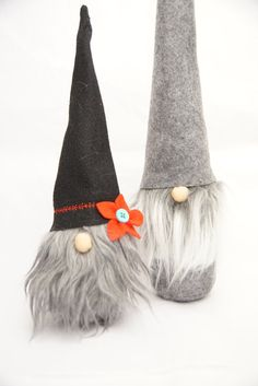 poup e petit en feutrine no l gnome su dois tomte nisse. Black Bedroom Furniture Sets. Home Design Ideas