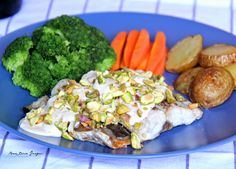The Cuisineuer: RECIPE | Pistachio-Crusted Baked Bangus (Milkfish) with Clara Olé Béchamel Sauce