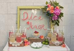 As seen on Ruffled.... http://www.ruffledblog.com/cinco-de-mayo-wedding-inspiration/  #mexican wedding ideas