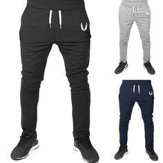 2017 New Autumn Winter Casual Men Skinny Pants Elastic Fitness Workout Pants Sweatpants Trousers Jogger Pants Pantalones Hombre Jogging, Gym Pants, Sport Pants, Workout Pants, Sports Trousers, Running Pants, Jogger Pants, Harem Pants, Basket Tennis