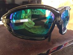 Gafas graduadas Adidas Evo (lentes progresivas espejadas verde)