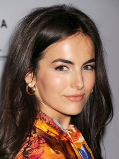 Camilla Belle has gorgeous, full brows that frame her face perfectly!