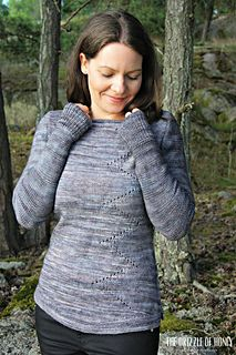 Early Frost Pullover Pattern by Stefanie Schuster - Winter's Sky Collection FW 2015