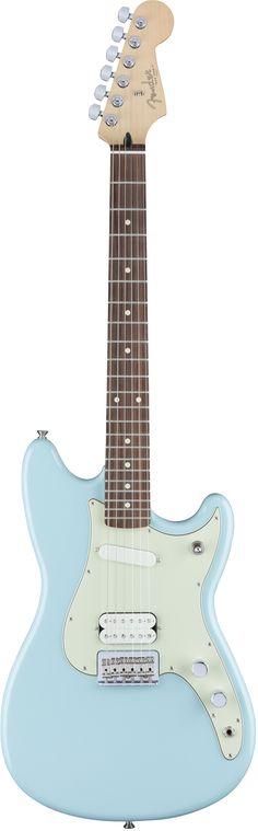 Fender Duo Sonic HS, Daphne Blue - $500