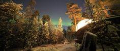 #AuroraBubble #Finland #Nellim