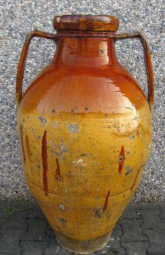 Terracotta: Vaso / Anfora in terracotta Italia del sud (Puglia), inizio 1900
