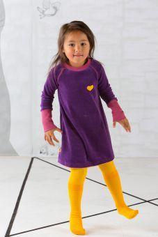 AlbaBabY Doll School Dress purple