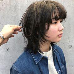 Asian Short Hair, Short Hair Cuts, Asian Haircut Short, Shot Hair Styles, Curly Hair Styles, Inspo Cheveux, Short Grunge Hair, Mullet Hairstyle, Cut My Hair