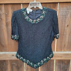 Top back nude crochet size SM model La Laguna blue turquoise light grey dark grey