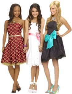 High School Musical 2 poster, t-shirt, mouse pad Gabriella High School Musical, High School Musical Cast, Fashionista Trends, Vanessa Hudgens Style, Vestidos Sexy, In High School, Summer Dresses, Formal Dresses, Musicals