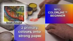 MPO COLORLINE™ beginner on paper - The Boat-House