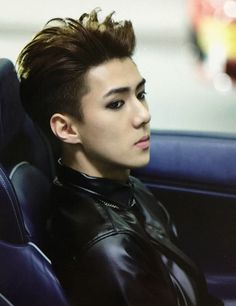 Sehun is so sexy that his inherent sexiness caused my sudden death