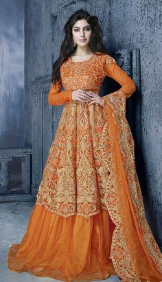 online Salwar Kameez Party Wear Suits - 9544
