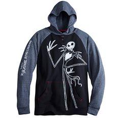 Jack Skellington Pullover Hoodie for Men | Disney Store