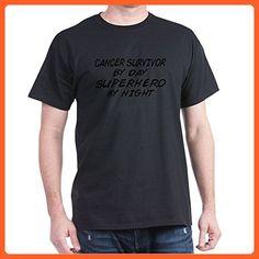 396dd1f621811 CafePress - Cancer Survivor Superhero - 100% Cotton T-Shirt - Superheroes  shirts (