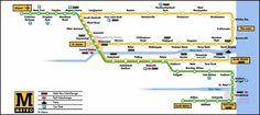 """Die Tyne and Wear Metro ist eine Stadtbahn, die im Volksmund auch als """"die U-Bahn"""" bekannt ist, und dessen Transportdienstleistungen sich nicht nur auf die Newcastle Stadt beziehen, sondern auch auf alle im Nordosten von England: von Newcastle bis Tyne, Gateshead, nördlich und südlich des Tyne und Sunderlan, eine Oberfläche von fast einer Million Einwohnern.  #newcastle #metro #tyneandweaer"""