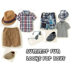 Summer Looks For Boys #Fashion #Summer #Clothing