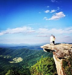 Hiking the Appalachian Trail in Virginia- this is McAfees Knob, my absolute favorite section of the AT in VA. There's a trailhead across the street and it's connected to Dragon Tooth and Tinker Cliffs, which are also awesome trails.